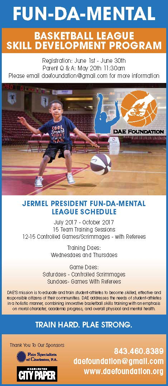 basketball league, student athletes, DAE foundation