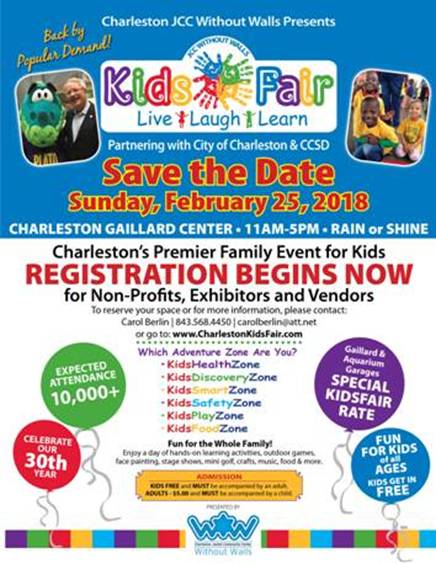 Kid's Fair @ Charleston Gaillard Center | Charleston | South Carolina | United States