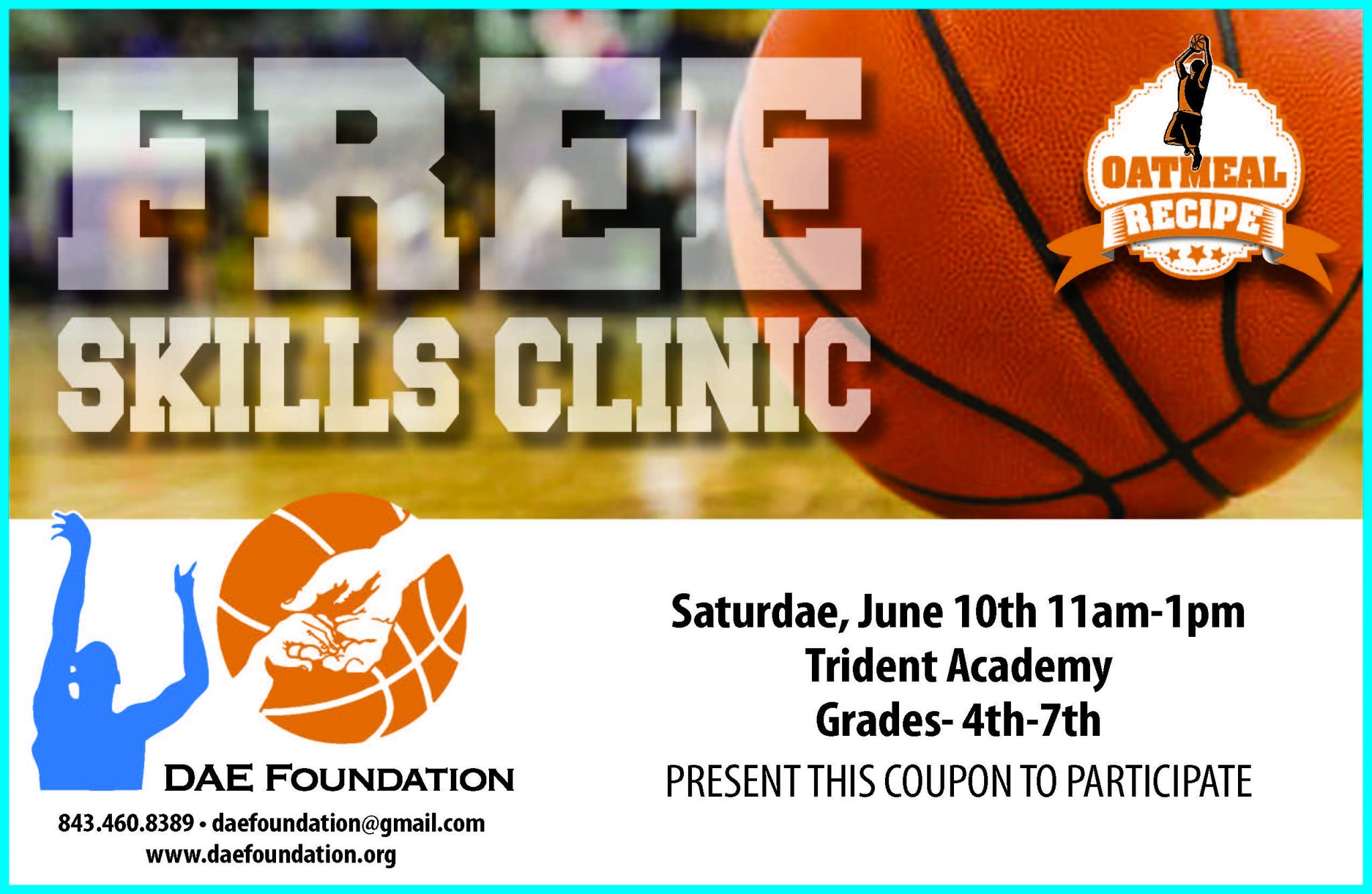 FREE SKILLS CLINIC @ Trident Academy | Mount Pleasant | South Carolina | United States